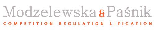 Modzelewska i Paśnik Sp. Jawna, logo